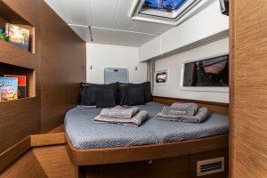 customized exclusive blue eternal sailing catamaran