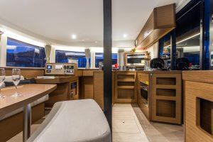 casta diva premium equipped catamaran of blue eternal